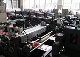 three side bag making machine