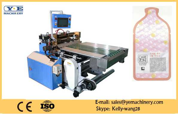 YX-600 figure plastic bag die cutting machine