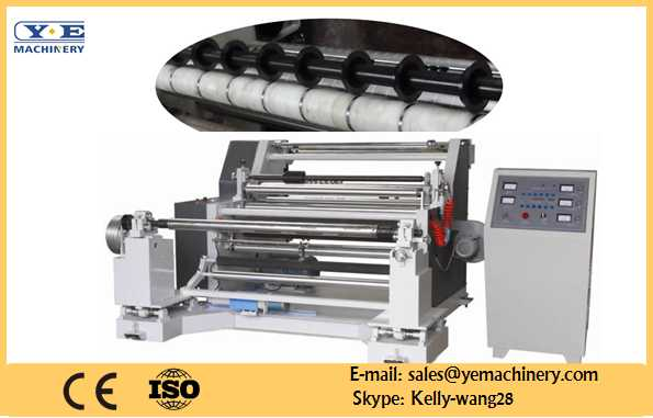 Automatic Horizontal Slitting and Rewinding Machine