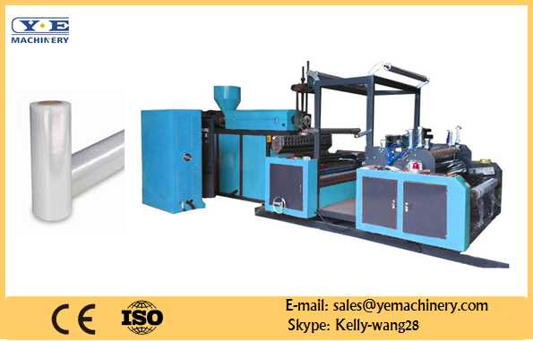 PE Stretch film extruder machine