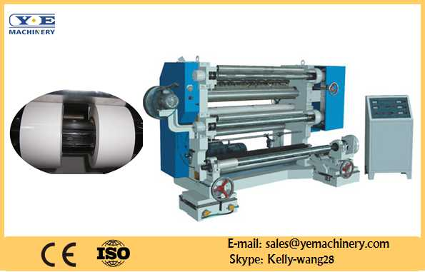 Vertical Slitting and Rewinding Machine