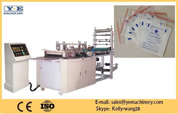 ZIP-500 zipper bag sealing and cutting machine