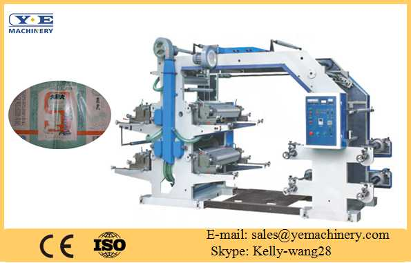 Four Color Flexography Printing Machine