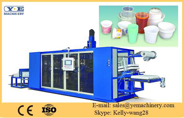Plastic Cup Tilt-mold Thermoforming machine