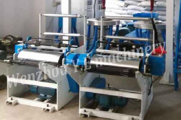 Double head high output film blowing Machine detail