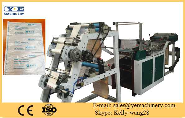 Air bag rolling bag making machine