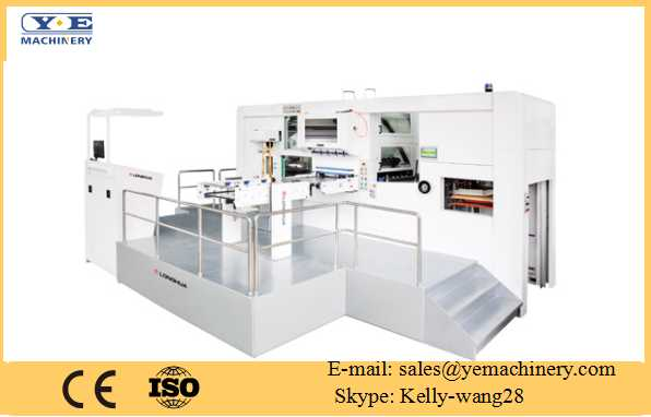 Automatic Foil Stamping and Stripping Die Cutting Machine