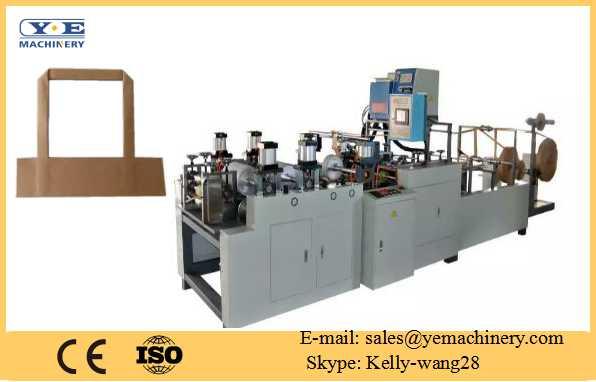 paper flat belt handle making machine