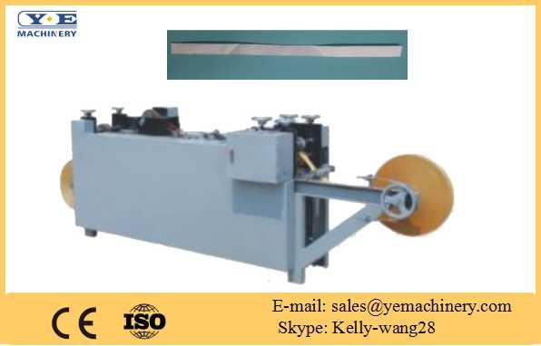 Flat-belt rope making machine