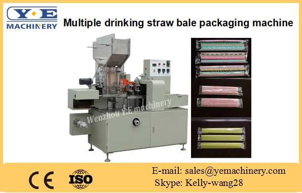XG-42 Multiple drinking straw bale packaging machine