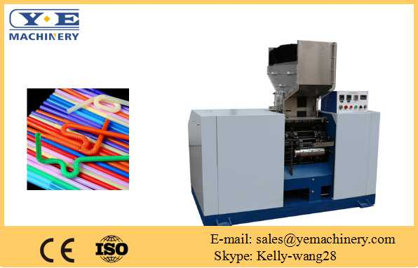 XG-02 Artistic long flexible straw making machine