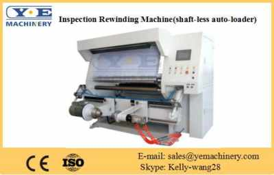 Inspection Rewinding Machine (shaft-less auto-loader)