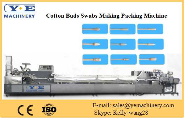 cotton buds swabs making packing machine